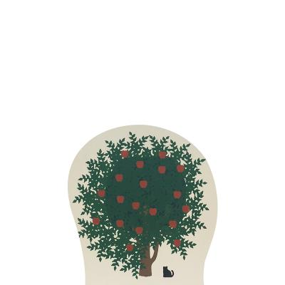 """Vintage Apple Tree from Accessories handcrafted from 3/4"""" thick wood by The Cat's Meow Village in the USA"""