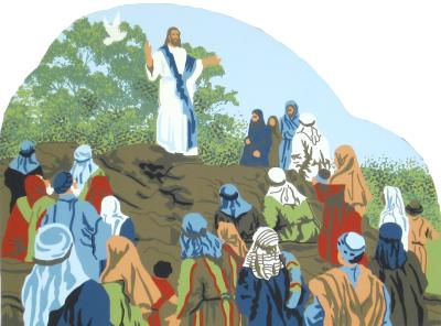 Sermon On The Mount - Matthew 5:1-12, Biblical stories,