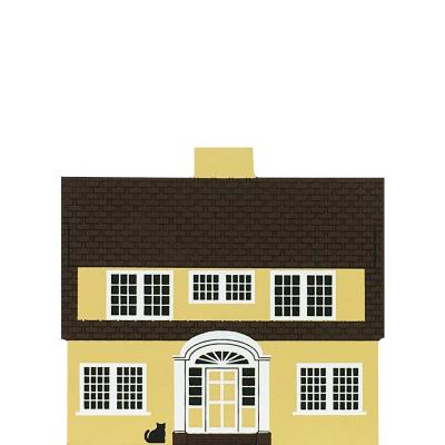 """Vintage Martha Washington House from Series V handcrafted from 3/4"""" thick wood by The Cat's Meow Village in the USA"""