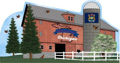 Cat's Meow Michigan State Barn
