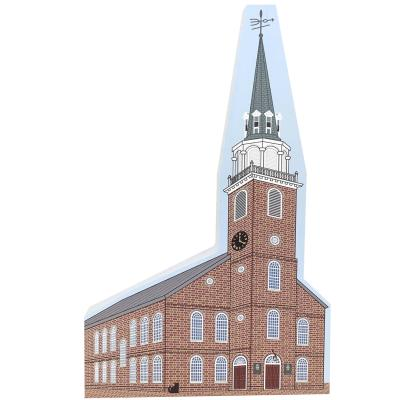 Add this Old South Meeting House to your home display to remind you of the fun times you had while there! Handcrafted in the USA by The Cat's Meow Village.
