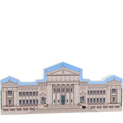 """Field Museum, Chicago, Illinois. Handcrafted in the USA 3/4"""" thick wood by Cat's Meow Village"""
