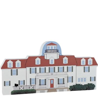 United States Coast Guard Station, Sandwich, Massachusetts, Cape Cod.  Handcrafted by Cats Meow Village in the USA.
