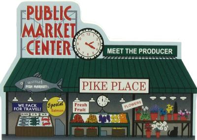 Pike Place Market, Seattle, Washington / Public Market Center, Pike Place Fish Company