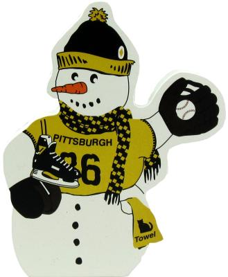 Pittsburgh Sports Snowman, Pittsburgh, Pennsylvania, Pittsburgh Pirates, Pittsburgh Steelers, Pittsburgh Penguins