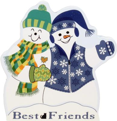 friends, friendship, best friends, Best Friends Snowman