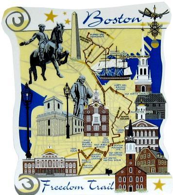 Boston, Boston Freedom Trail, Massachusetts, Colonial, Revolutionary, Paul Revere, Old State House, Boston Massacre, Bunker Hill Monument, National Recreation Trail