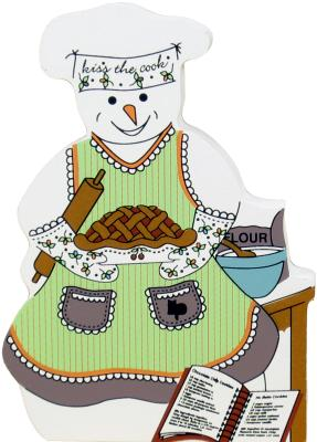 cooking, baking, cook, kitchen, Kiss the Cook Snowman