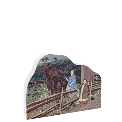 Ma & The Bear, Pepin Wisconsin Laura Ingalls Wilder Story