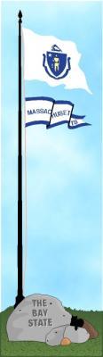 Massachusetts state flag