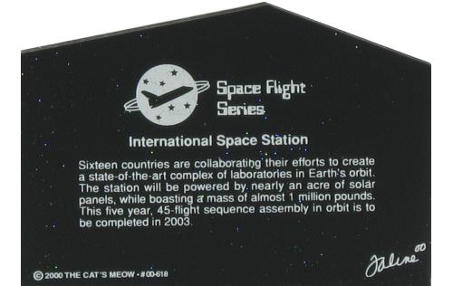 Back of International Space Station