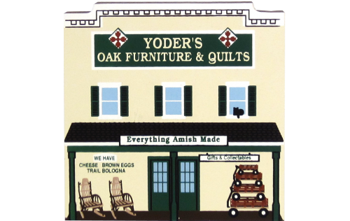 Yoder's Amish Oak Furniture Store, Amish Country Ohio, Amish,