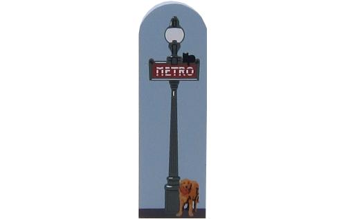 Metro Sign, Paris, France, subway