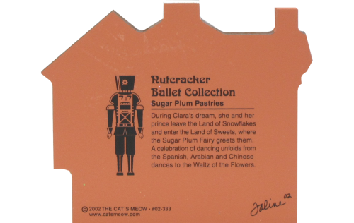 Nutcracker Ballet Dance Of The Sugar Plum Fairy - Pastry Shop