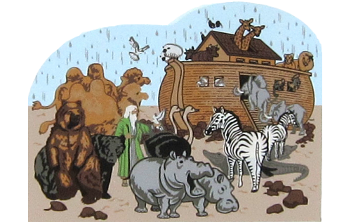 Noah's Ark - Genesis 5:29-10:32, Bible stories, Noah, ark,