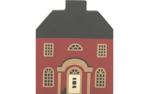 """Vintage Grandinere House from Series II handcrafted from 3/4"""" thick wood by The Cat's Meow Village in the USA"""