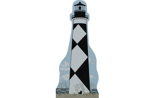 Cape Lookout Lighthouse, Outer Banks, North Carolina, lighthouse, nautical