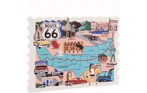 Route 66, New Mexico, Texas, Oklahoma, Arizona, California, Here It Is, Blue Swallow Motel, U-Drop Inn