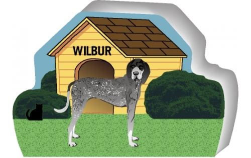 Bluetick Coonhound can be personalized with your dog's name