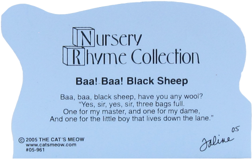 Baa! Baa! Black Sheep, nursery rhymes, sheep, wool
