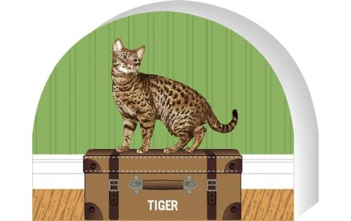 Ocicat by The Cat's Meow Village, PURRsonalize Me! Item