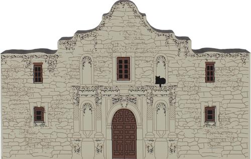 Cat's Meow replica of The Alamo located in San Antonio, TX