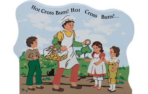 Hot Cross Buns, nursery rhymes, mother goose