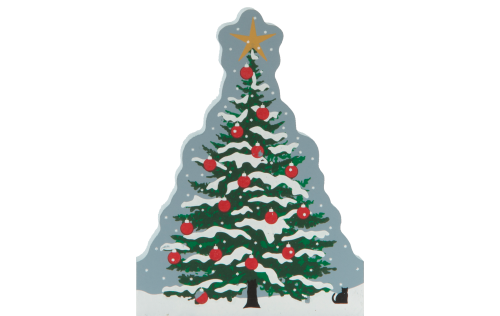 Your purchase of this Operation Christmas Child Tree Cat's Meow will help Samaritan's Purse send Christmas presents to children all around the world.