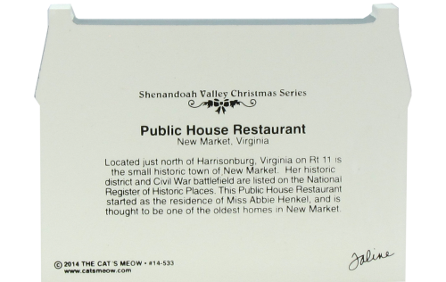 Public House Restaurant, New Market, Virginia, Shenandoah Valley, Shenandoah National Park,  Civil War, Harrisonburg, Virginia