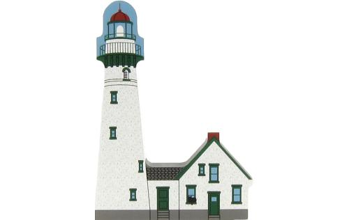 Presque Isle Light, Michigan, lighthouse, Great Lakes, nautical