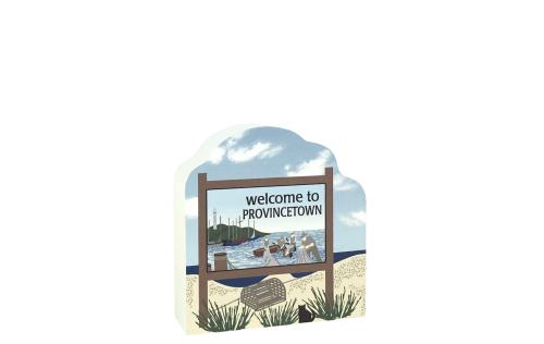 Add this Provincetown Sign to your Cape Cod Cat's Meow display to remind you of the fun times you had there!