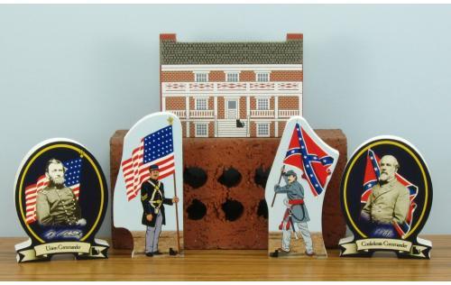 Civil War pieces available.