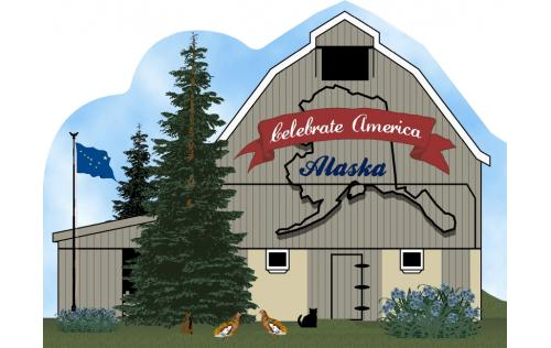 Cat's Meow Alaska State Barn