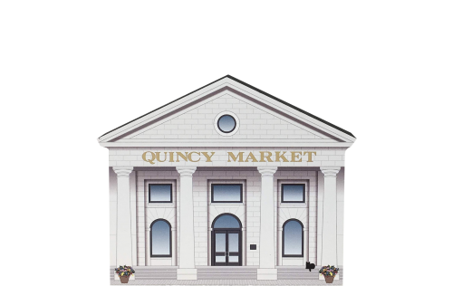 Add this Quincy Market to your home display to remind you of the fun times you had while there! Handcrafted in the USA by The Cat's Meow Village.