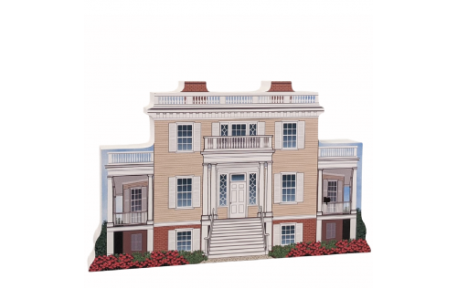"Hamilton Grange National Memorial, Manhattan, New York. Handcrafted in the USA 3/4"" thick wood by Cat's Meow Village."
