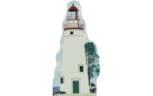 Marblehead Lighthouse, Marblehead, Ohio, Oldest light tower still standing on the Great Lakes
