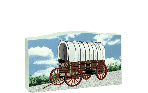 Covered Wagon, Front