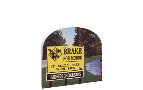 Brake For Moose, It could save your life, hundreds of collisions every year