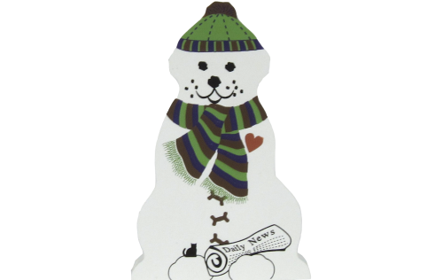 Snow Dog, Snowman, Fetch the newspaper