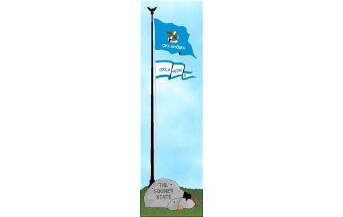 Oklahoma state flag