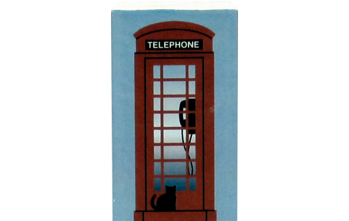 Cat's Meow souvenir of a London Red Telephone Booth