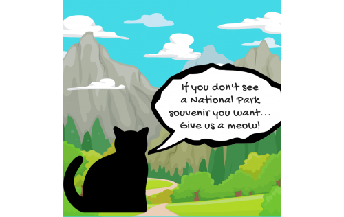Don't see a National Park souvenir you want? Send me a message and we'll connect.