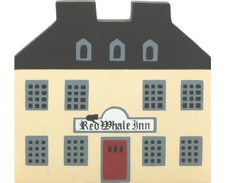 "Vintage Inn from Series I handcrafted from 3/4"" thick wood by The Cat's Meow Village in the USA"