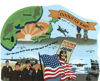 Doolittle's Raid, Pearl Harbor, Tokyo, Japan, James H. Doolittle, WWII