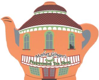 Nutcracker Ballet Mother Ginger's Tea Shop with Peppermint Children