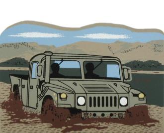 US Army Combat Vehicle