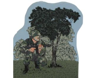 US Soldier in Combat