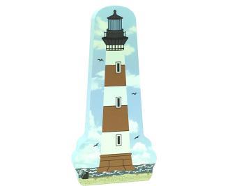 Morris Island Light, Morris Island, South Carolina, lighthouse, nautical