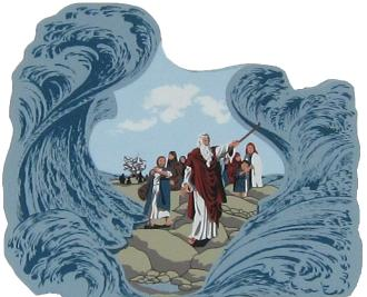 Crossing The Red Sea - Exodus 14:15-30, Bible stories, Moses