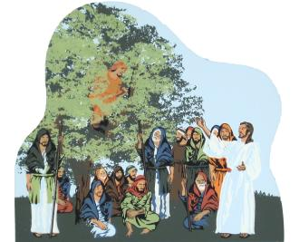 Zacchaeus - Luke 19:1-6, Bible stories, Zacchaeus
